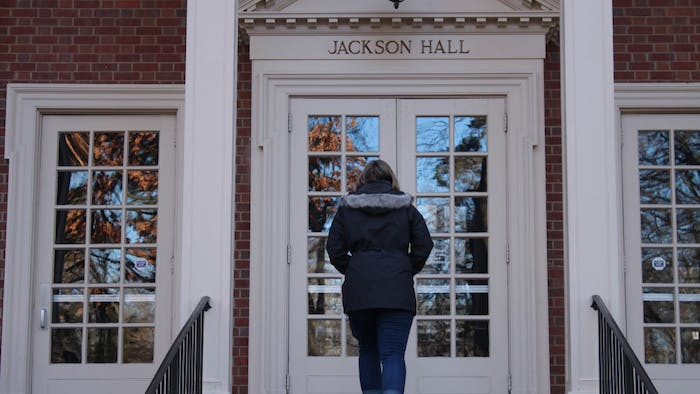 After the removal of the Silent Sam pedestal from campus on Tuesday, Jan. 15, 2019, students wonder how Silent Sam will be addressed in future campus tours to prospective students.