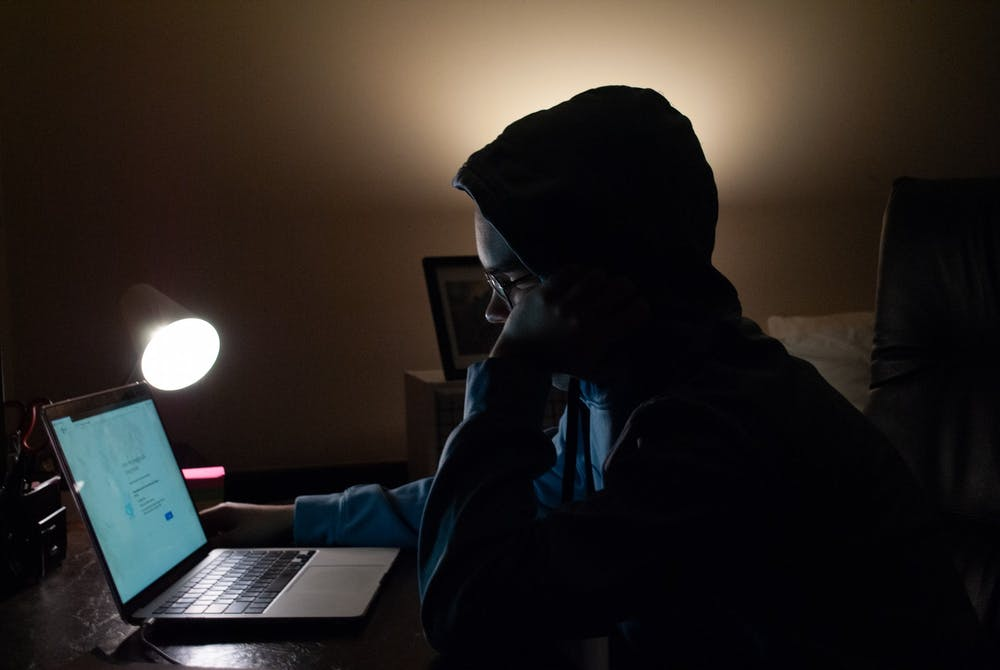 <p>DTH Photo Illustration. Only two weeks after students were expected to leave their on-campus housing and attend classes remotely, students living off-campus are struggling with internet accessibility.</p>