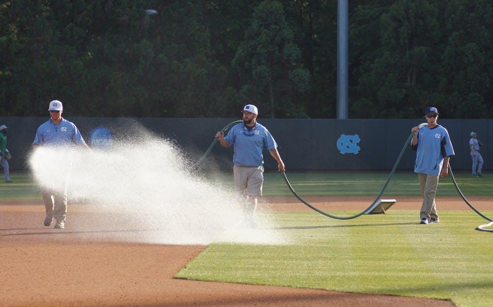 Boshamer Stadium grounds crew reaps beauty from the grass