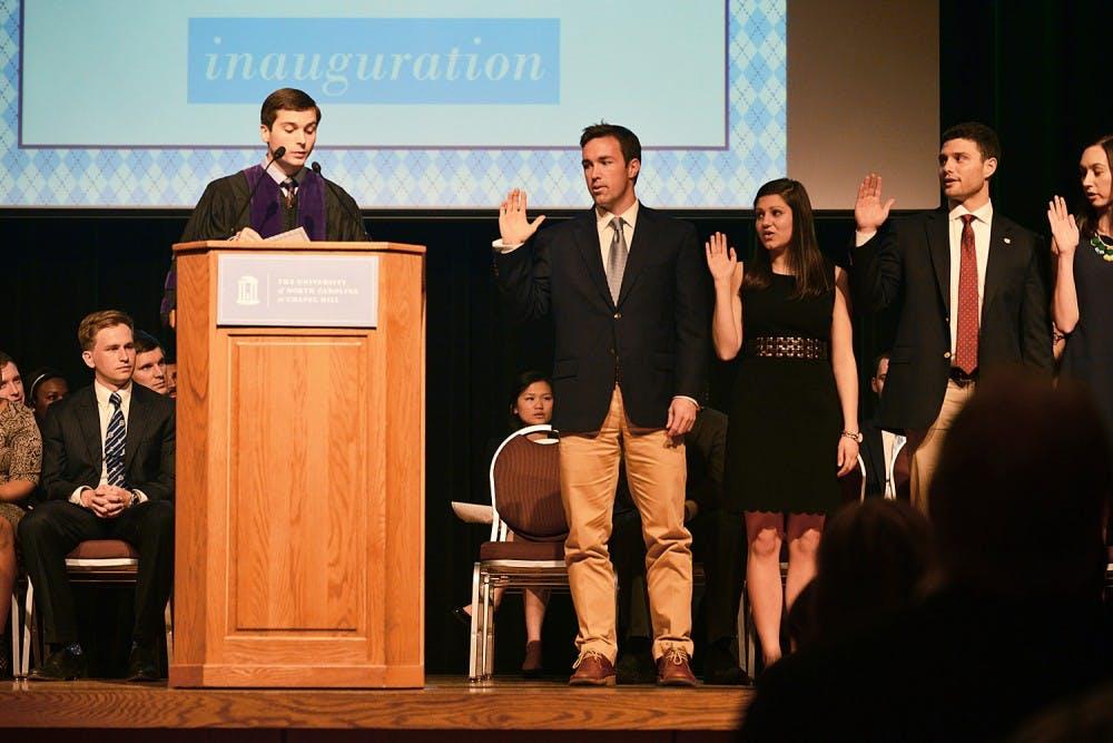 Houston Summers sworn in as student body president