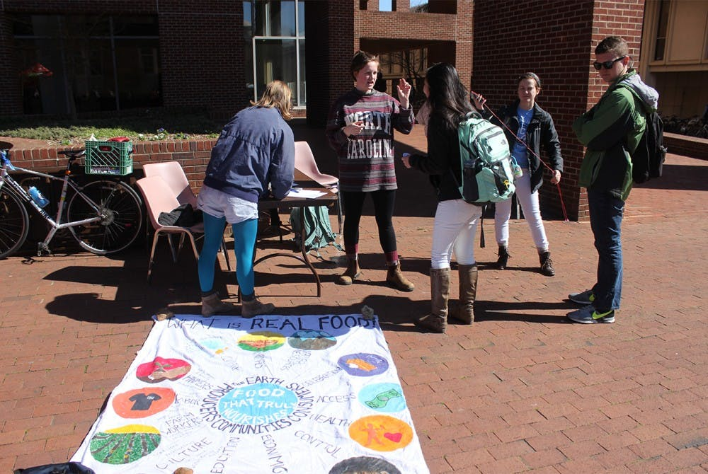 Students want real food to be real issue
