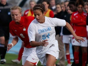 Senior forward Casey Nogueira scored during UNC's win against Maryland in the NCAA Tournament. DTH/Will Cooper
