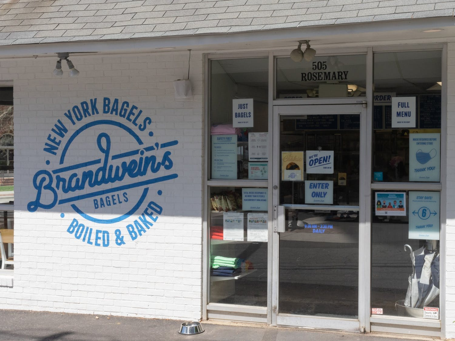 Brandwein's Bagels sits on West Rosemary Street in Chapel Hill on Wednesday, June 16th, 2021.