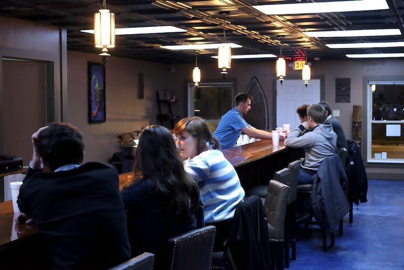 The Krave Kava Bar at 103 W. Main St. in Carrboro provides an alcohol alternative for anyone 18 and older. Photo by Kyle Hodges.