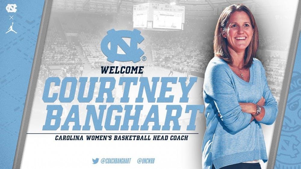 UNC women's basketball names Courtney Banghart as its new head coach