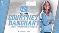 Courtney Banghart will be the next UNC women's basketball head coach. Banghart was the former head coach at Princeton University. Image courtesy of UNC athletics department