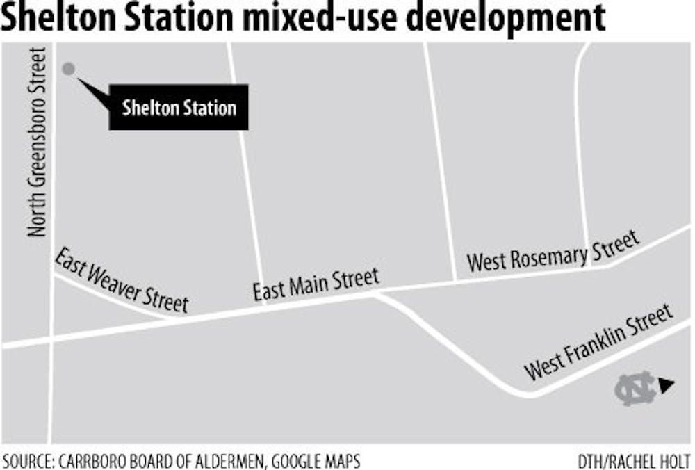 Carrboro Board of Aldermen approve Shelton Station development