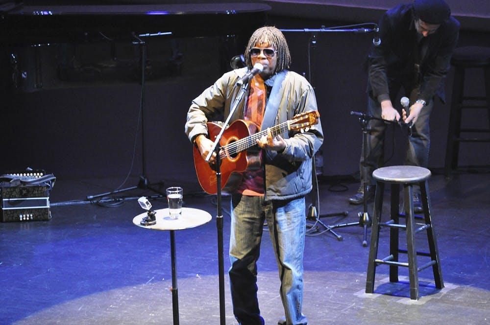 Brazilian musician Milton Nascimento comes to Memorial Hall