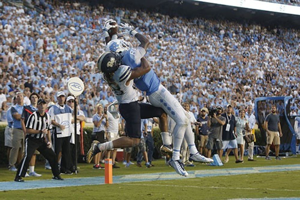 Taking a look at UNC football's matchup with Pitt on Thursday