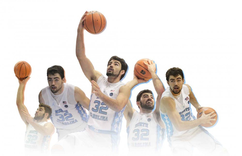 How Luke Maye has convinced the college basketball world that he belongs