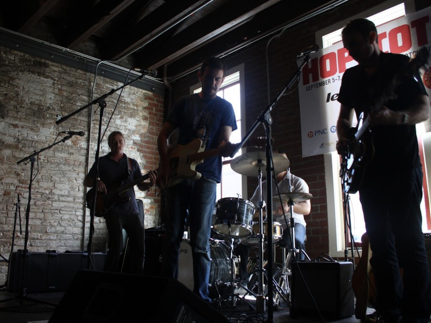The Hopscotch Music Festival hosted various bands throughout the day in music venues and bars.