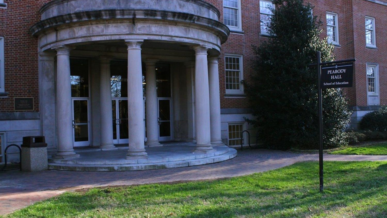 Peabody Hall houses UNC's School of Education.
