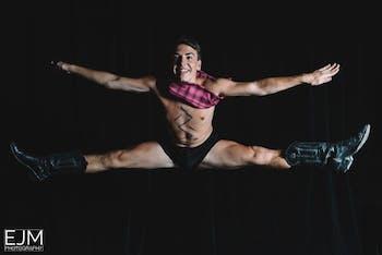UNC dancer Bradley Barefoot. Photo courtesy of Bradley Barefoot.