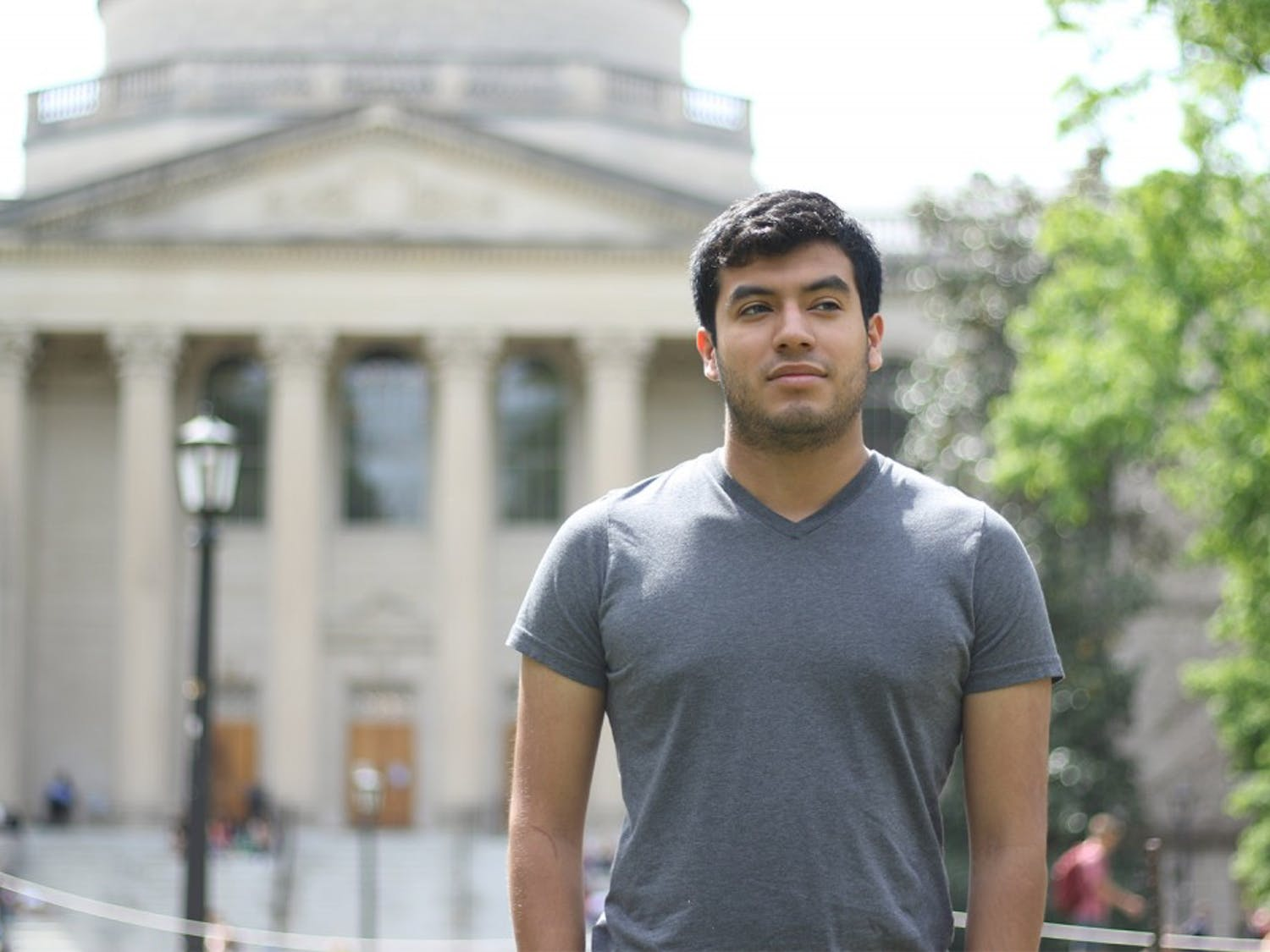 Eddy Fernandez, a first-year student hoping to major in Health Policy and Management, is a Carolina Covenant Scholar. The Covenant program makes education affordable for Carolina undergraduate students from low-income families.