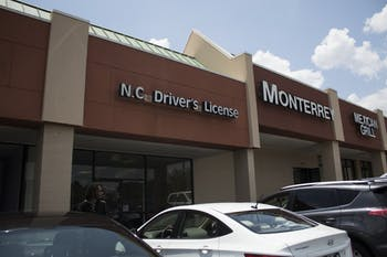 The ACLU is suing the North Carolina DMV over license revocation practices.
