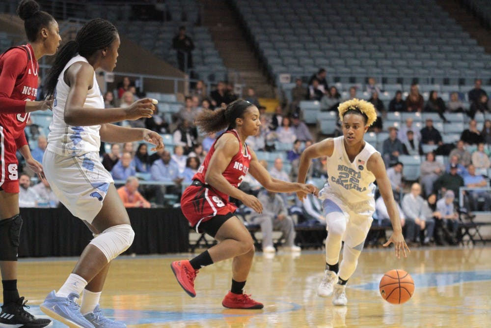 Third-quarter collapse hurts UNC women's basketball in loss to rival N.C. State