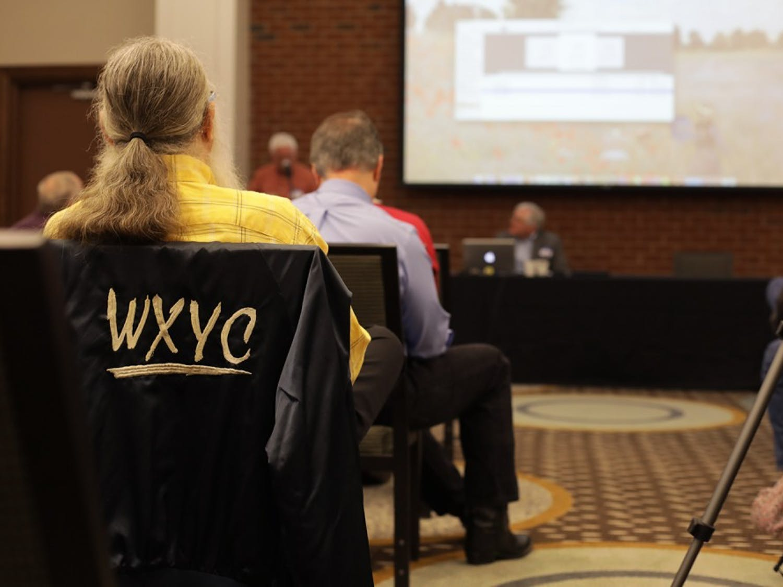 WXYC and WCAR alumni held a reunion in the Carrboro Hampton Inn & Suites Saturday.