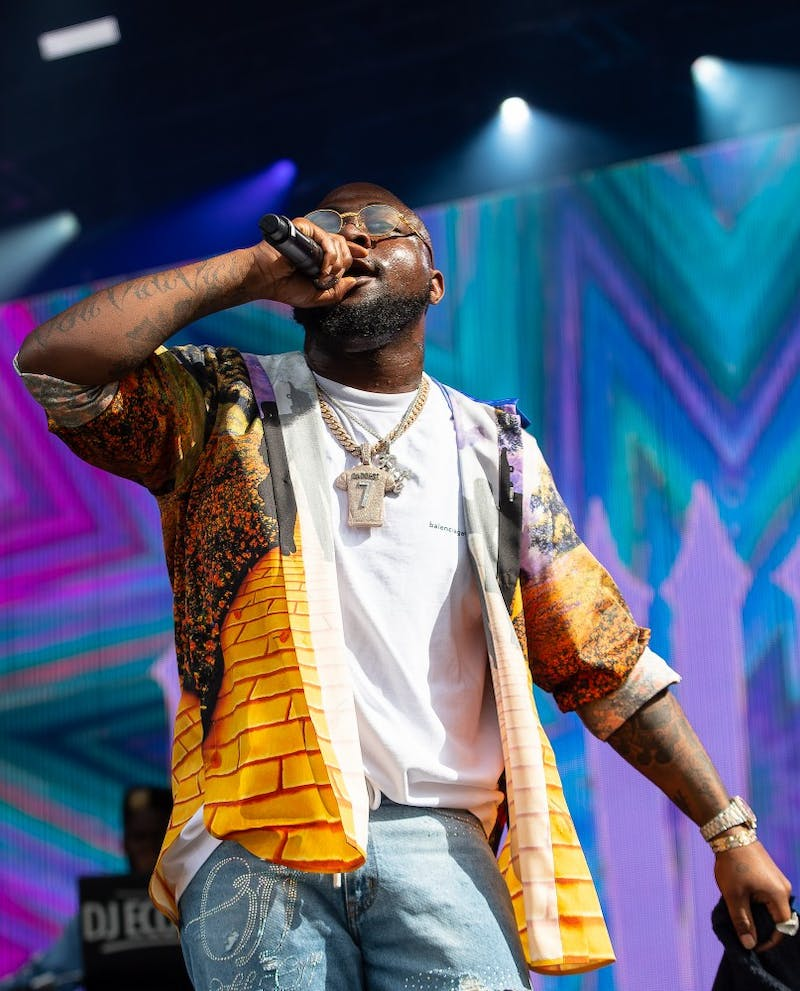 Davido performs his set at the inaugural Dreamville Fest at Dorothea Dix Park on Saturday, April 6, 2019 in Raleigh, N.C. In its inaugural event, 40,000 people attended Dreamville after it was postponed in the fall of 2018 because of Hurricane Florence.