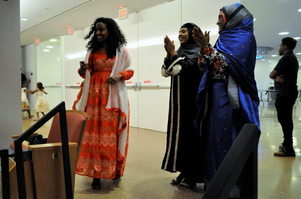$700 raised for National Union of Eritrea Women at a UNC fashion