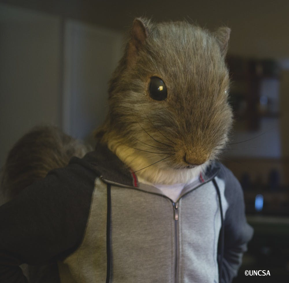 Go nuts with 'Chester' the squirrel at the Carrboro Film Festival