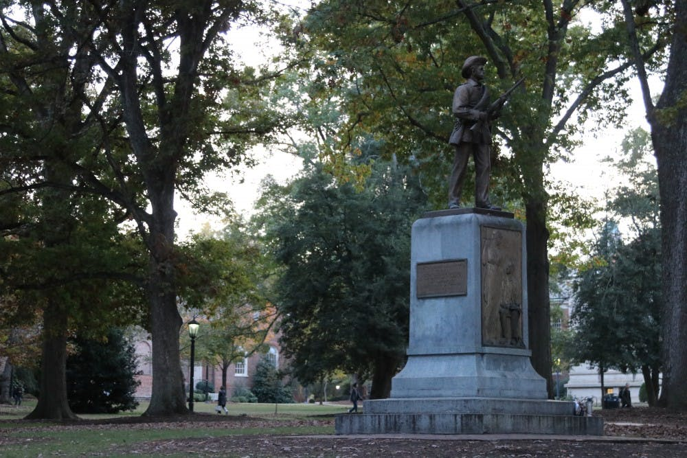 Anonymous faculty group threatens to take down Silent Sam
