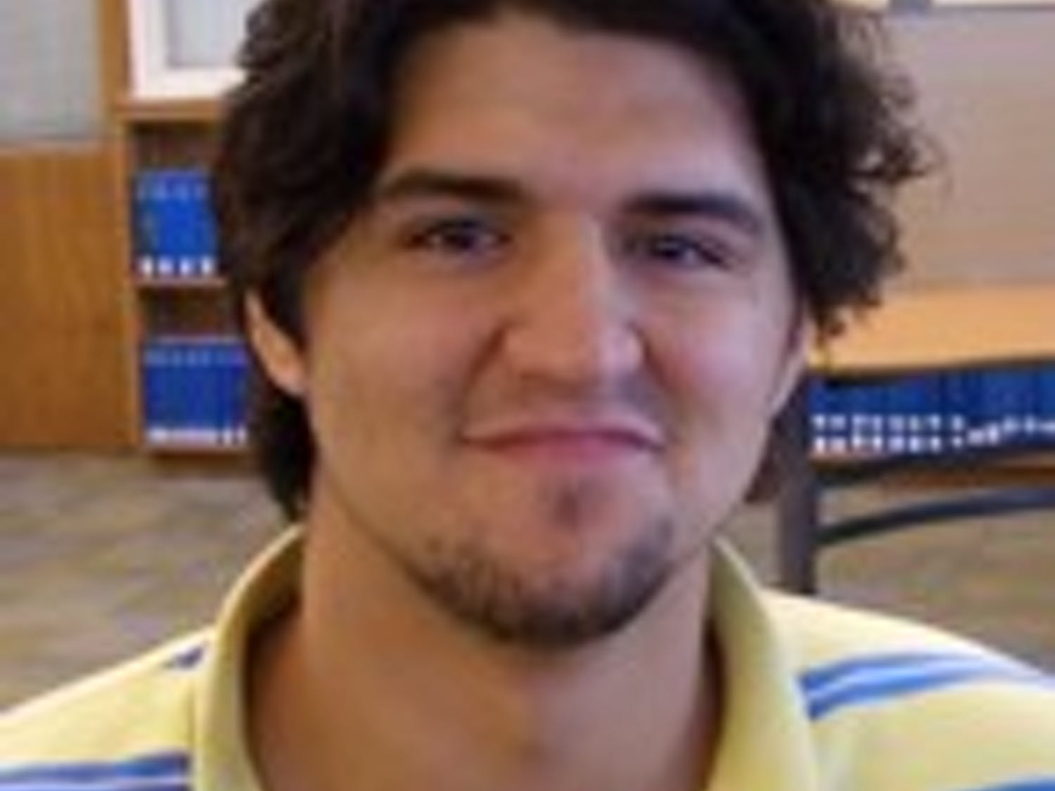 man on the street, football player parking tickets