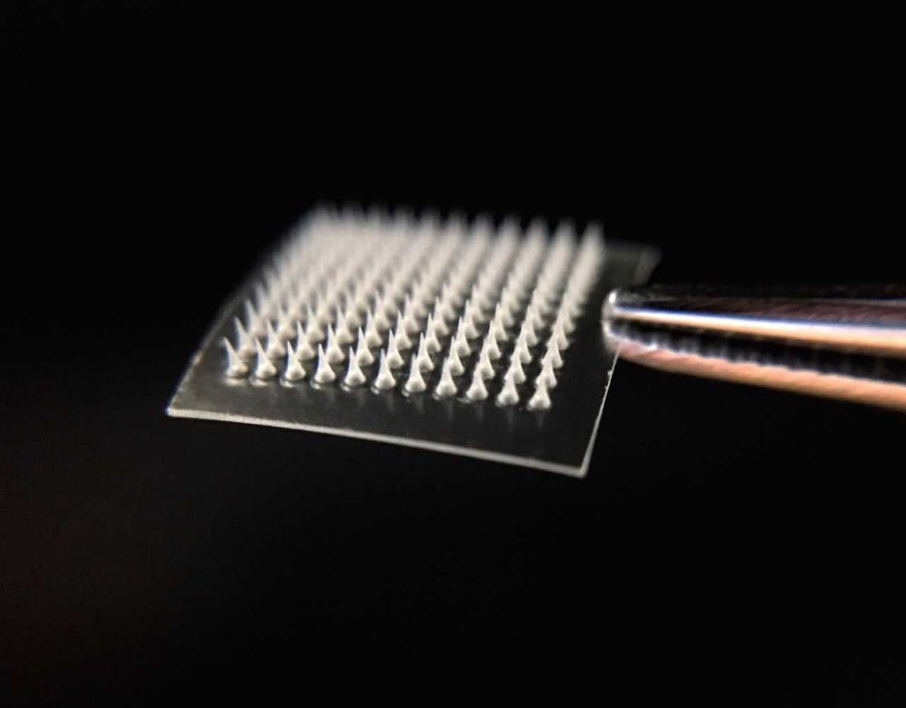 Microneedle skin patch could treat obesity and diabetes
