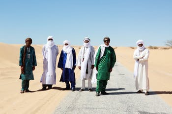 Tinariwen will perform at Cat's Cradle on Sept. 18. Photo courtesy of Marie Planeille.