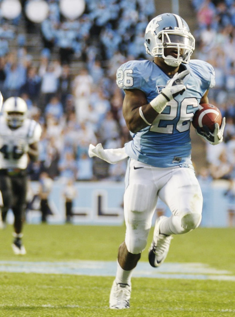 Tar Heels have record setting day in 37-21 win over Duke