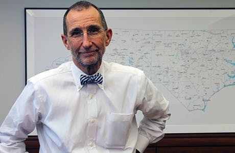 Dr. Bill Roper will step down as UNC Health Care CEO, medical school dean in May 2019