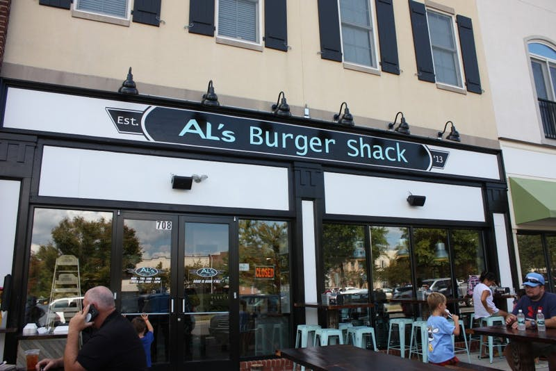 The new Al's Burger Shack location in Southern Village had their first business day Monday.