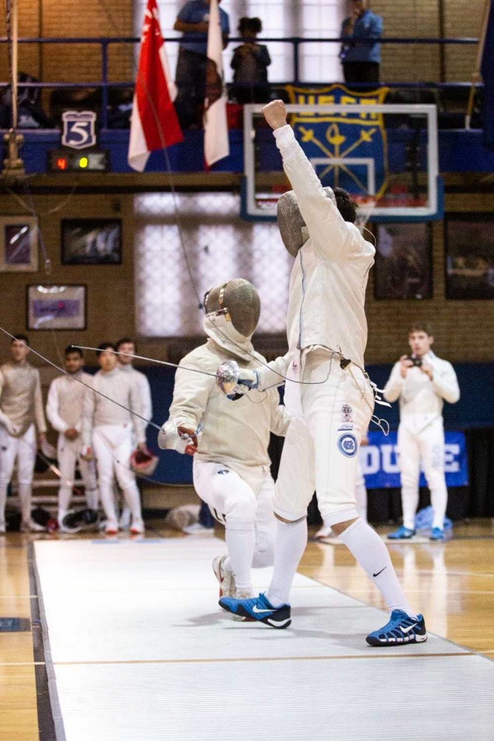 North Carolina fencing finishes 20th at NCAA Championships with three competitors