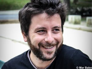"This year, The Center for European Studies and UNC are hosting Portuguese writer, David Machado. Machado won the European Union Prize for Literature in 2015 with his novel, ""The Shelf Life of Happiness."" Photo courtesy of the Center for European Studies."