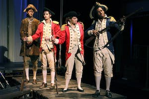"""Kenan Theatre Company presents Tmberlake Wertenbaker's """"Our Country's Good,"""" directed by Joesph Megel."""