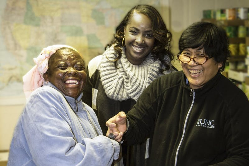 The Inter-Faith Council has been providing holiday dinners to people in need in Chapel Hill and Carrboro for approximately 20 years. (Courtesy of Lucie Branham)