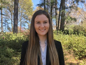 """Junior environmental and science communication major Jessica Reid recently published her first book, """"Planet Now: Effective Strategies for Communicating about the Environment."""" Photo courtesy of Jessica Reid."""