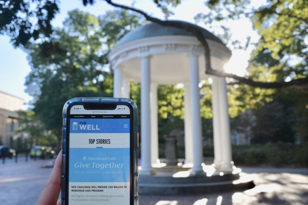 UNC launches 'The Well,' a digital news outlet for faculty and staff