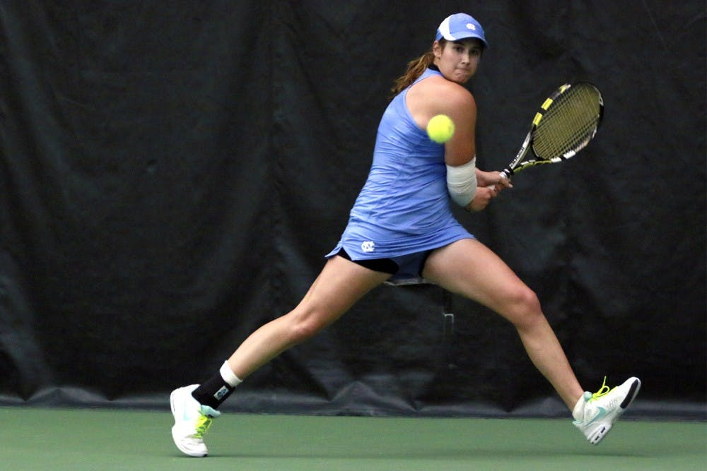 Women's tennis player Carter comes back from severe injury