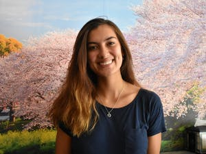 Guatemalan international student Monica Mussack is a junior majoring in business and minoring in cognitive science.