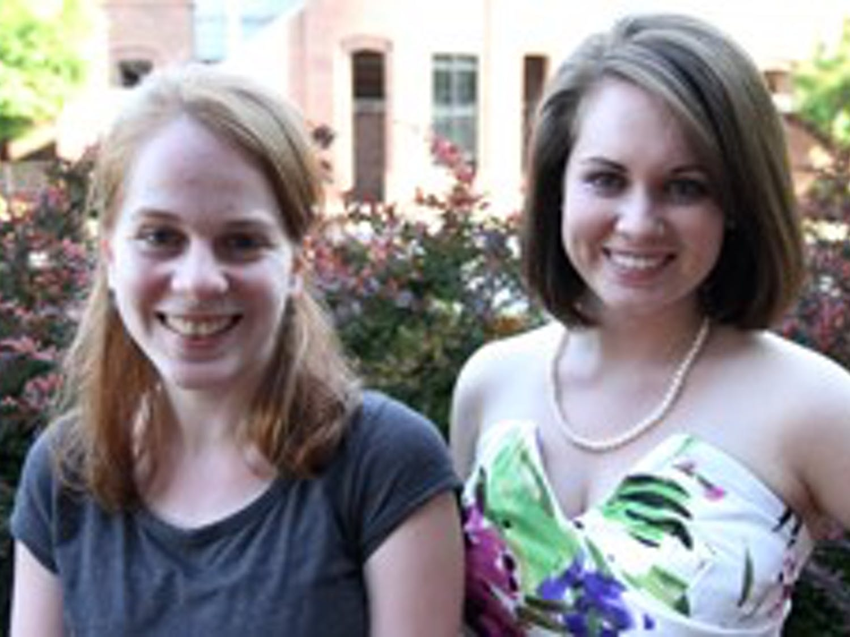 Beatrice Moss and Kelly McHugh Senior designer and design editor