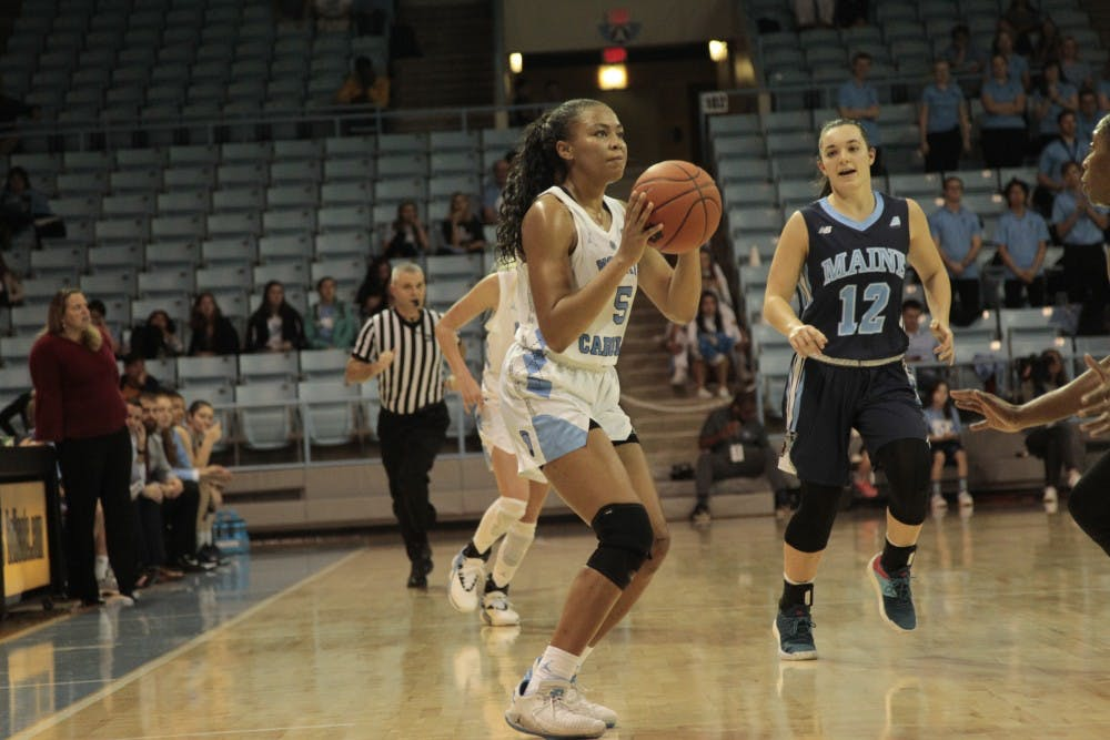 Stephanie Watts leads UNC to 14 made 3-pointers in 82-55 win over UNCW