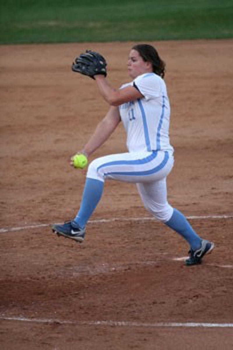 North Carolina senior Lisa Norris notched a win in her last regular season game at Anderson Stadium as the Tar Heels beat Charlotte 2-0.