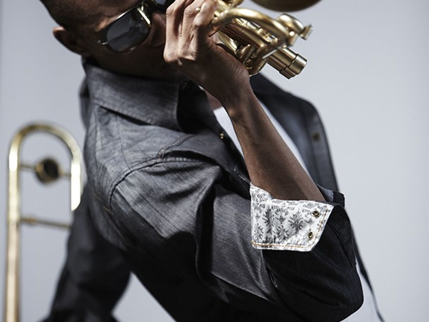 Trombone Shorty, a jazz-fusion musician from New Orleans, will perform at Memorial Hall Friday in a concert presented by Carolina Performing Arts. He will perform with his band, Orleans Avenue.     Photo courtesy of Kirk Edwards