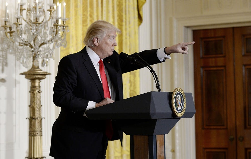 Trump calls media 'enemy of the people'