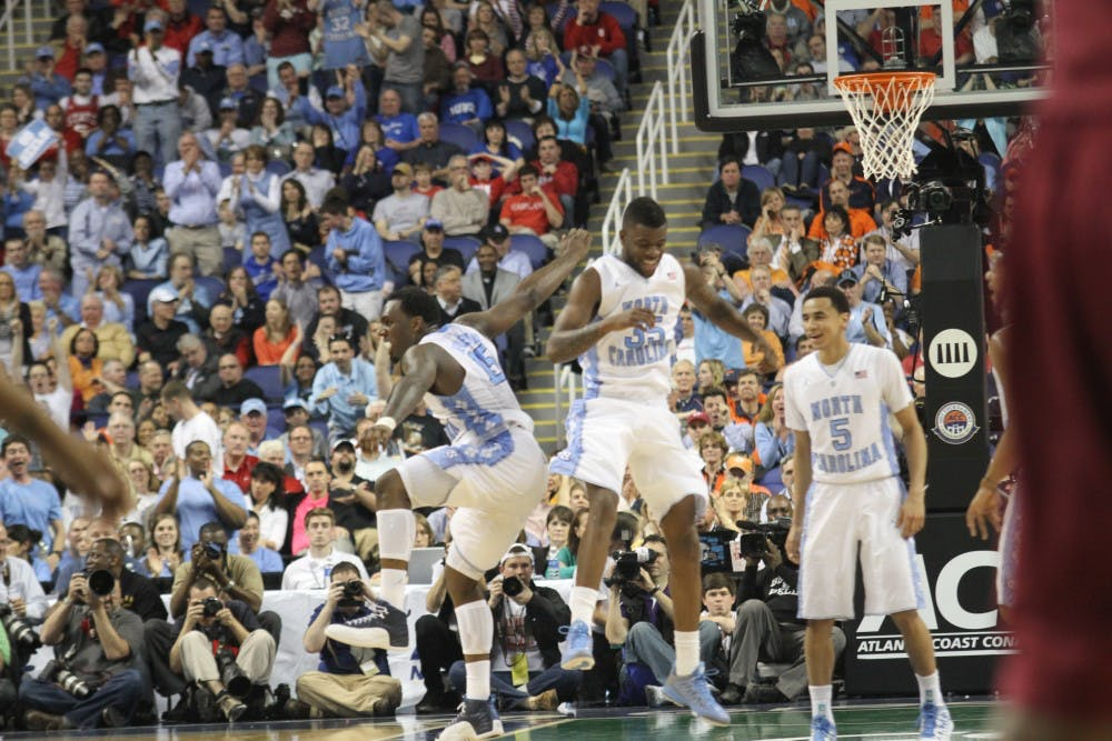 P.J. Hairston leads UNC to quarterfinal victory