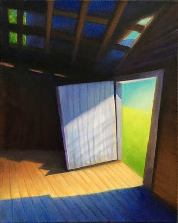 "David Davenport's ""Light Within,"" a painting included in the Resolutions 2020 exhibit. Photo courtesy of  David Davenport."
