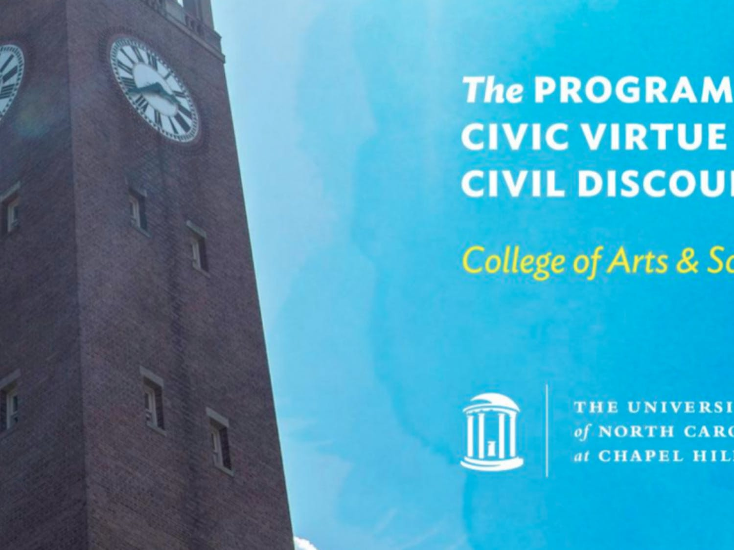 The Program for Civic Virtue and Civil Discourse, approved by Terry Rhodes, the interim dean for the College of Arts & Sciences, has generated controversy among faculty as it moves through its planning phases. Photo courtesy of UNC.