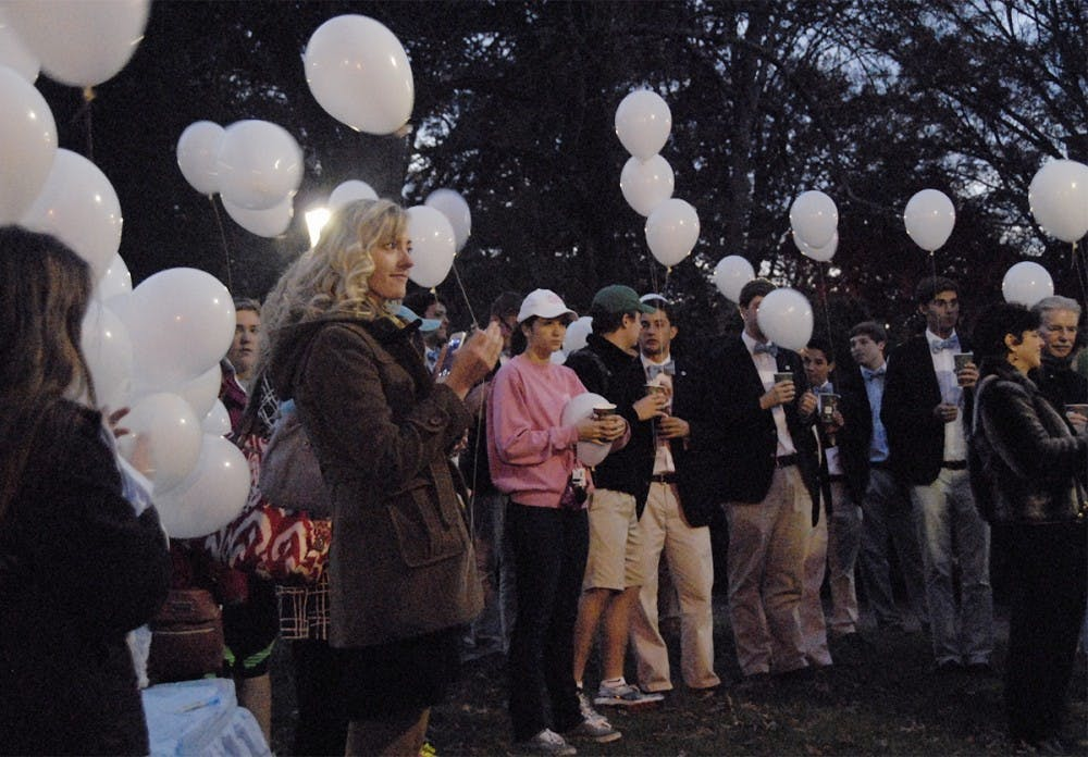 Balloon ceremony honors students who lost lives