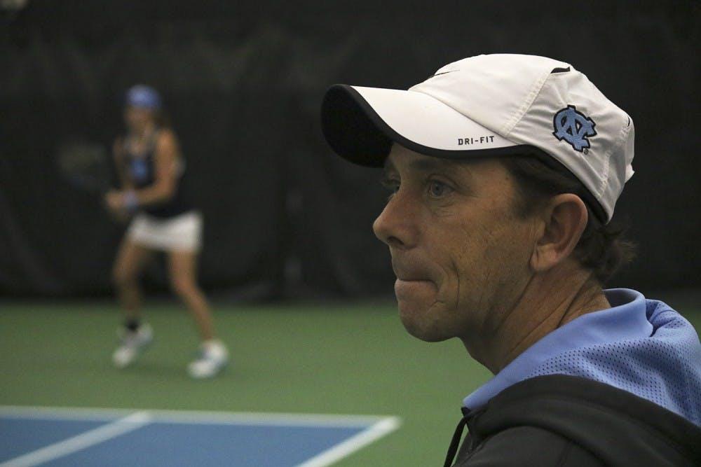 UNC men's tennis sweeps No. 7 Illinois in top-10 matchup