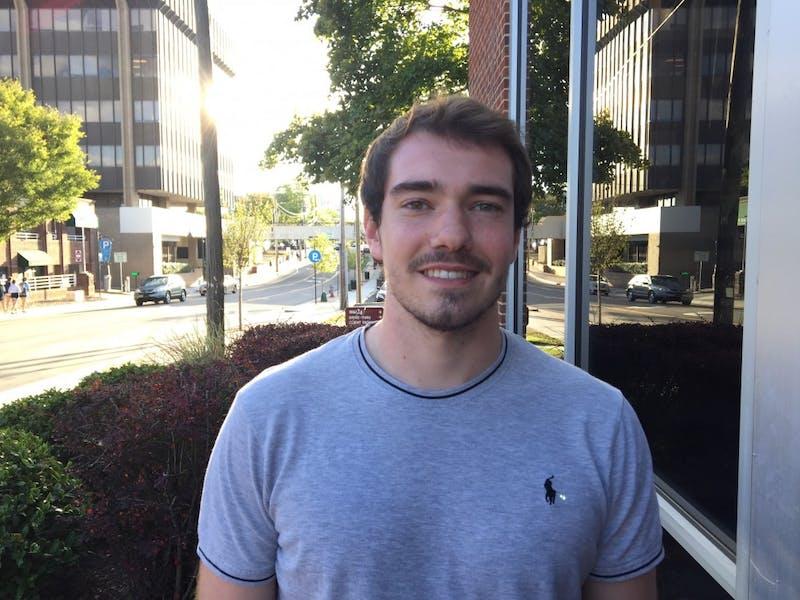 Sports desk staff writer Chris Hilburn-Trenkle